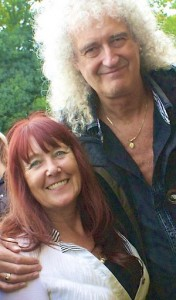 Linda Lamon & Dr Brian May