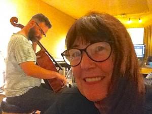 Linda in studio