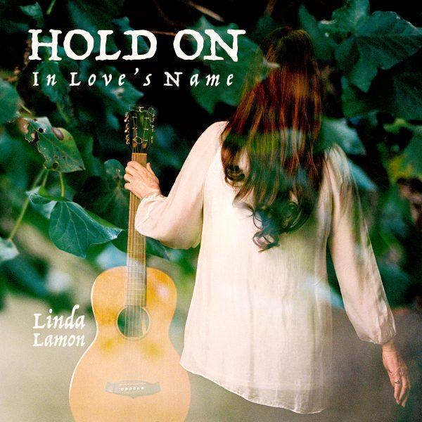 HOLD ON single cover.Linda Lamon